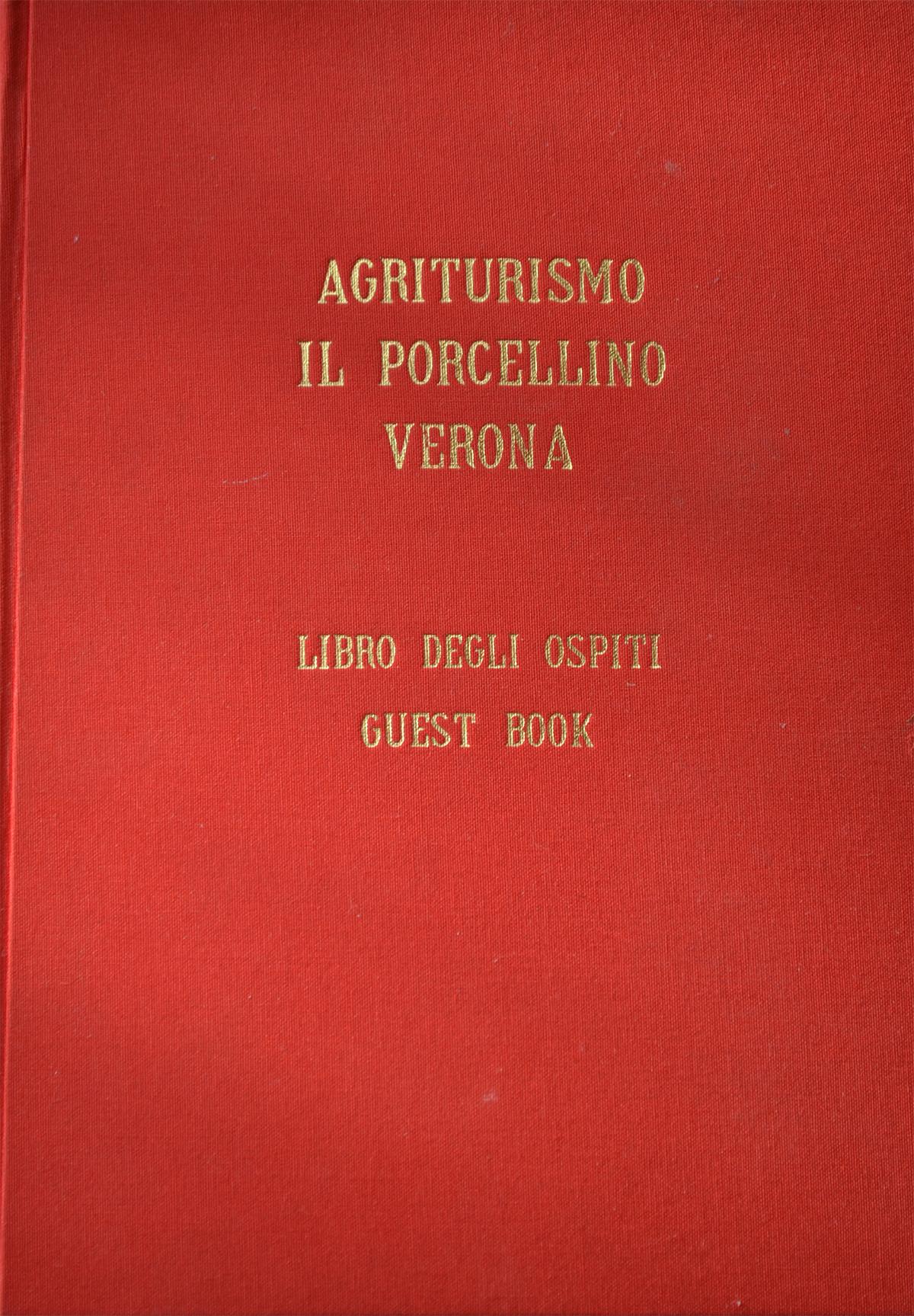 Libro degli ospiti agriturismo il porcellino dicono di noi for Libro degli ospiti