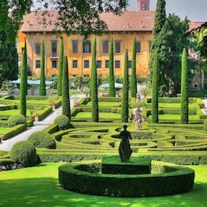 Visitare verona for Giardino e palazzo giusti